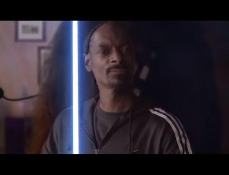 Snoop Dog in Adidas Star Wars World Cup Ad