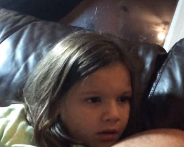 Little Girl Learns The Identity Of Luke Skywalker's Father