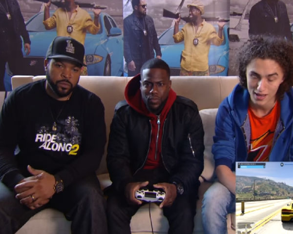 Ride Along 2 Stars Play Gta 5 Had The Time Of Their