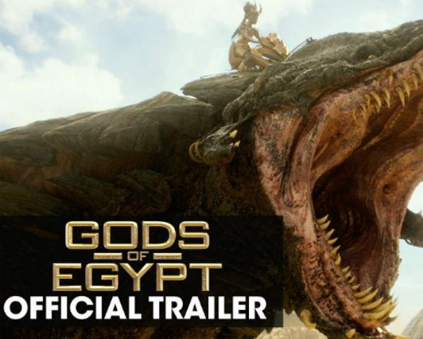 'Gods of Egypt' New Trailer – 'Battle For Mankind'