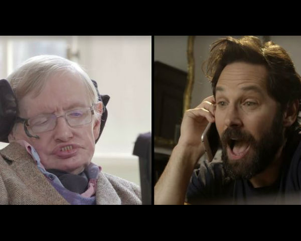 Paul Rudd And Stephen Hawking Plays Quantum Chess