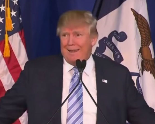 Listen To Donald Trump In A London Cockney Accent