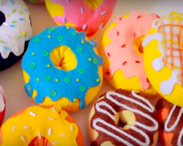 Donuts No-sew Project