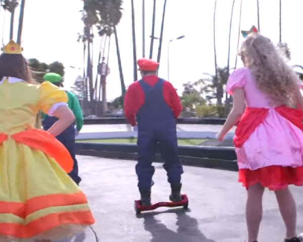 Check Out Epic Real Life 'Mario Kart' Race