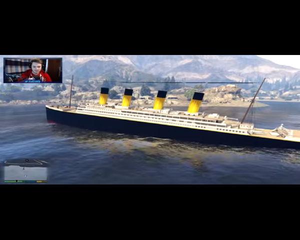 The 'Titanic' Found In 'GTA 5'