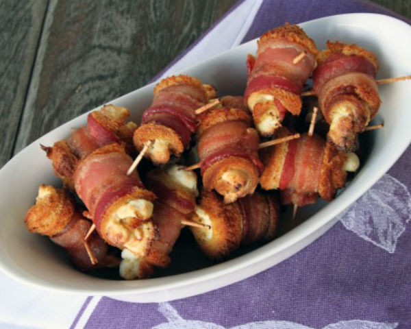 Bacon Cheese Roll-Ups