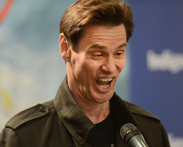 The Amazing Jim Carrey Does Metal Rock