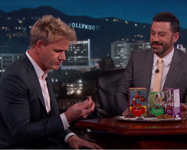 Gordon Ramsay's Hilarious Reaction To Girl Scout Cookies