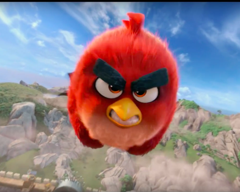 'The Angry Birds Movie'