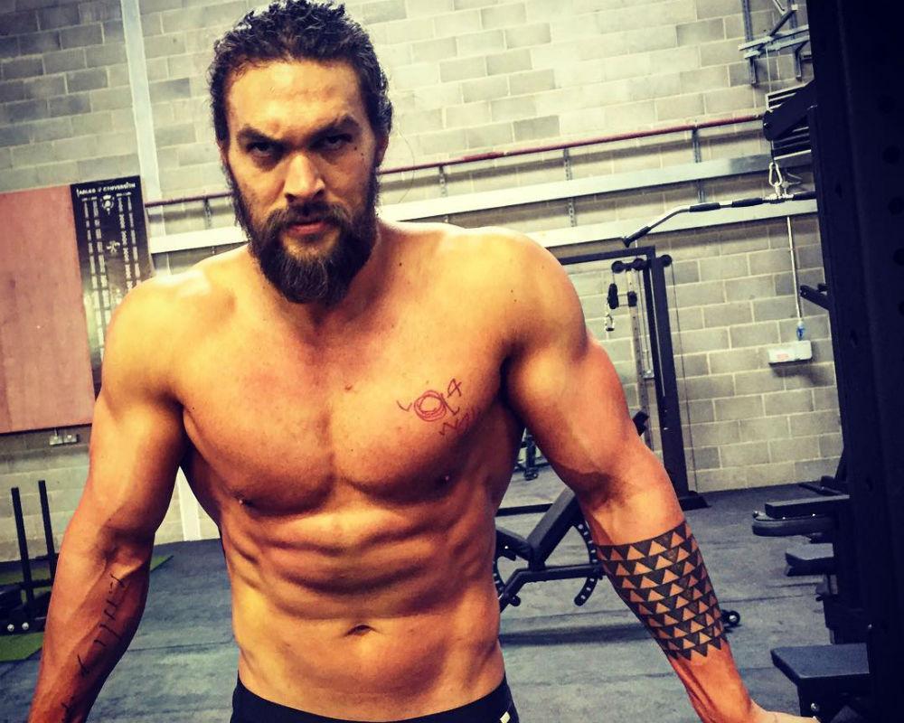 Jason Momoa Training For 'Aquaman'
