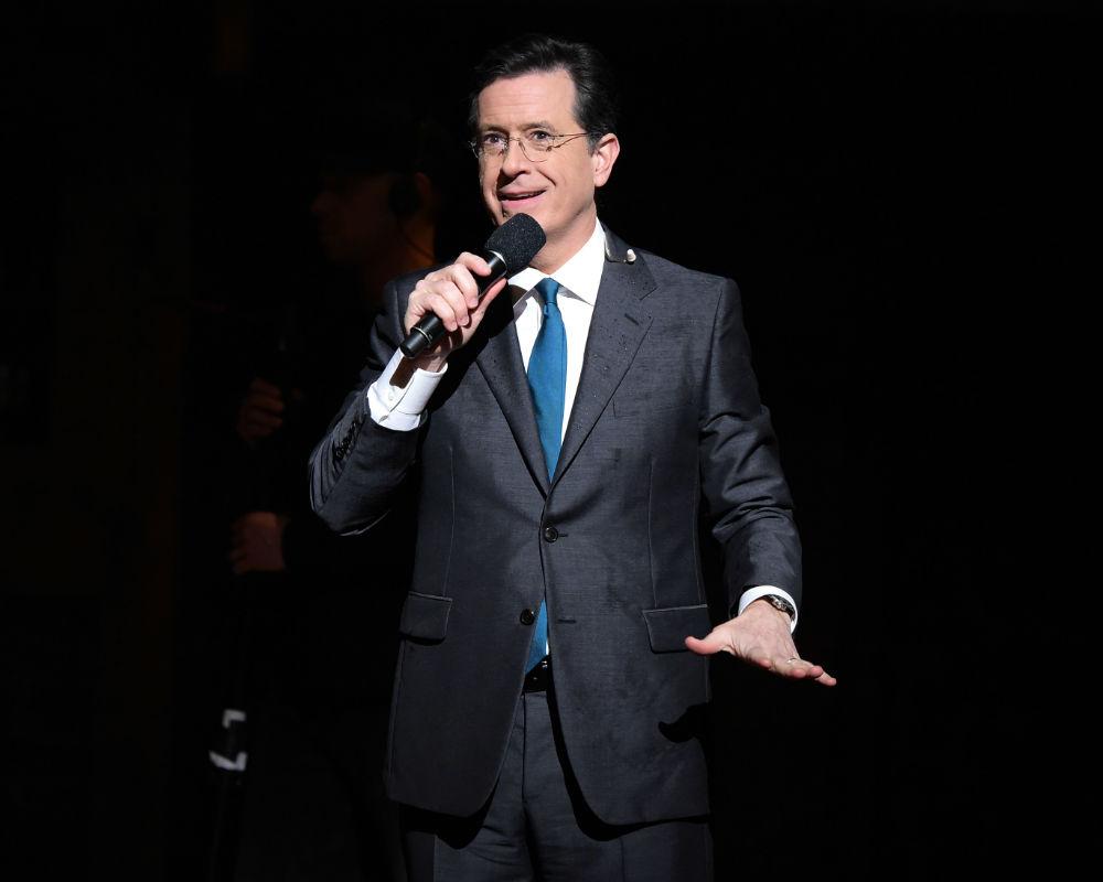 Stephen Colbert And Jon Batiste Honor Prince