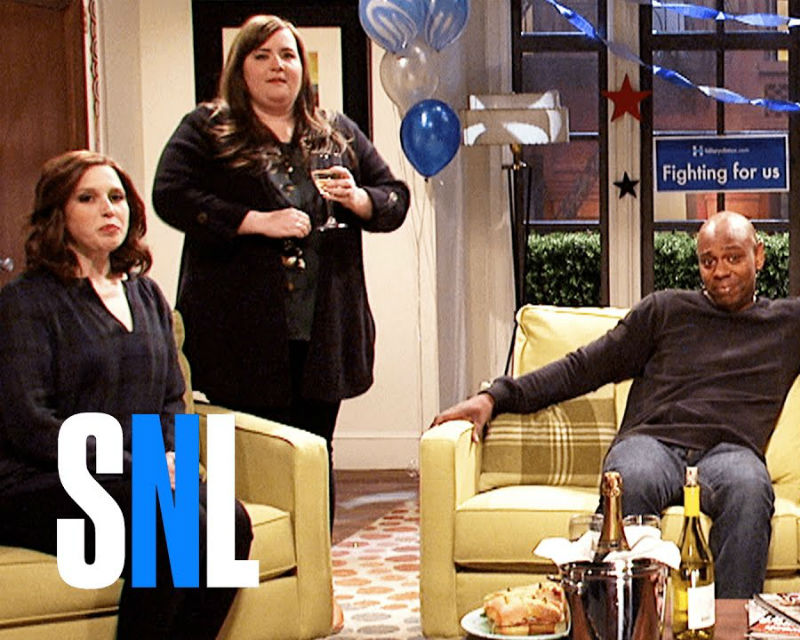 'SNL' Election Night Skit