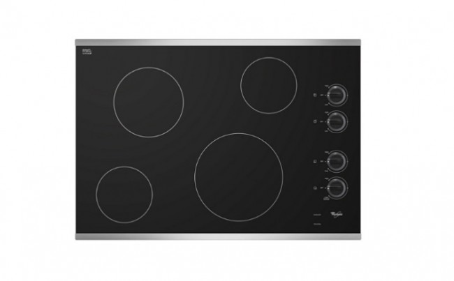 Whirpool Electric Cooktop with Smoothtop Style