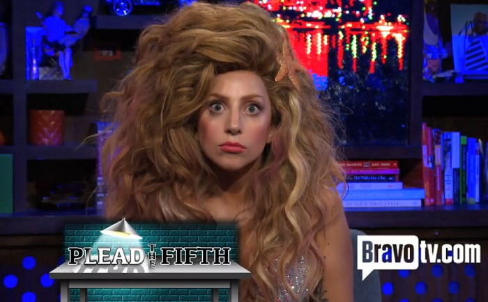 Lady Gaga Gives Bizarre Interview On Watch What Happens Live Video Artpop Singer Talks Sex Drugs And Real Houswives Music Enstars