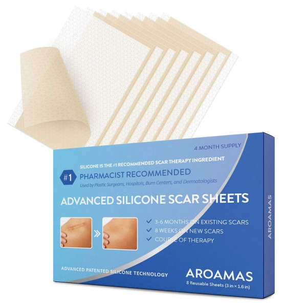 Aroamas Advanced Silicone Scar Sheets