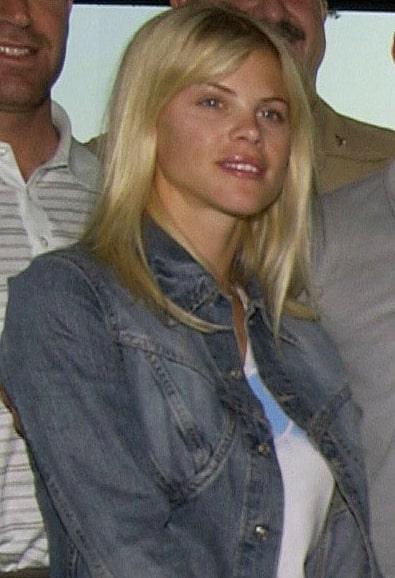Elin Nordegren ex-wife of Tiger w