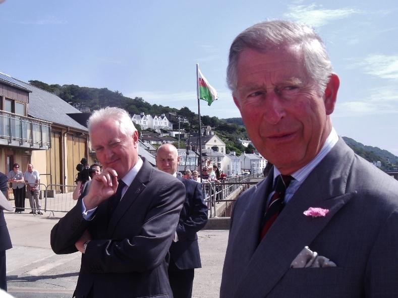 Prince Charles -Aberdyfi, Gwynedd, Wales