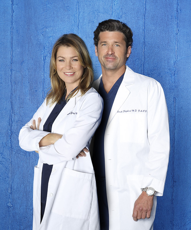 Grey's Anatomy Meredith Grey and McDreamy