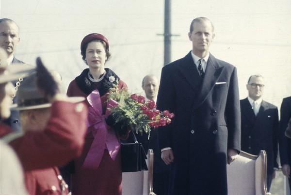 Queen Elizabeth II, Duke of Edinburgh 1957 Ontario, Canada