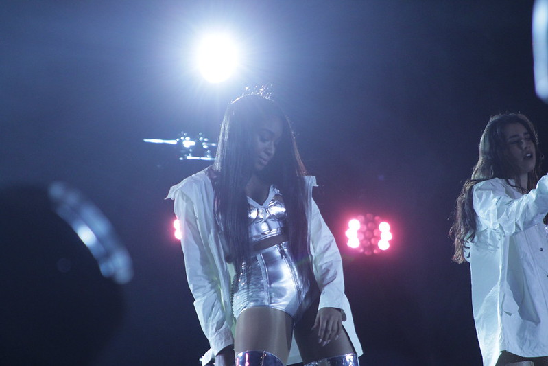 Normani with Fifth Harmony in L.A.