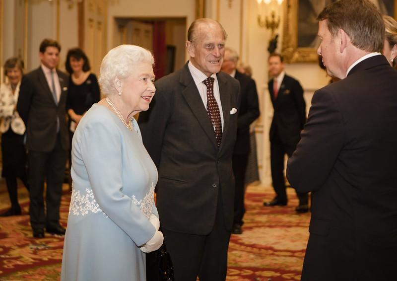 Queen Elizabeth II with Prince Philip, Duke of Edinburgh