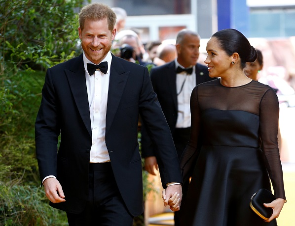 Royal Shame : Meghan Markle , Prince Harry Switched Post Megxit Backup From Royal Family to THIS