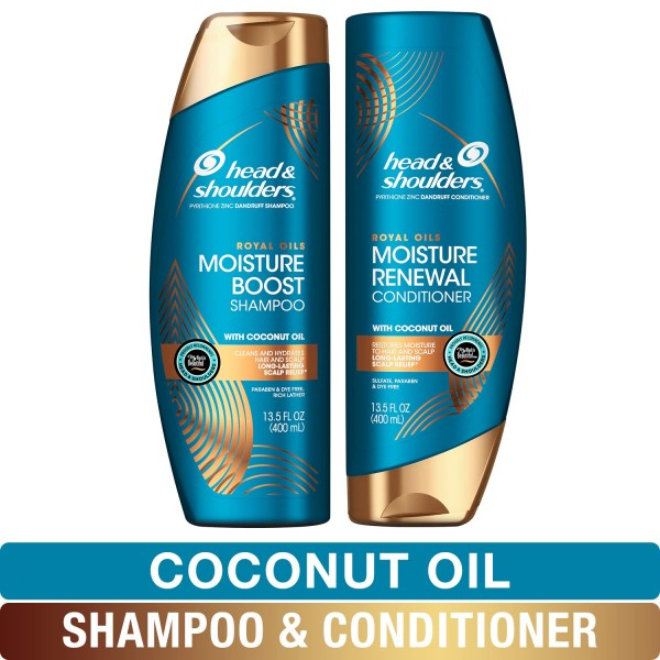 Head and Shoulders Smooth and Silky Shampoo and Conditioner