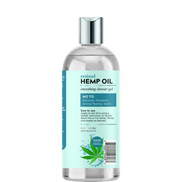 Seed + Posy Retinol Hemp Smoothing Shower Gel