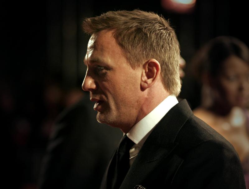 Daniel Craig - Orange British Academy Film Awards