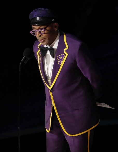 Spike Lee Wears Kobe Bryant Tuxedo to the Oscars