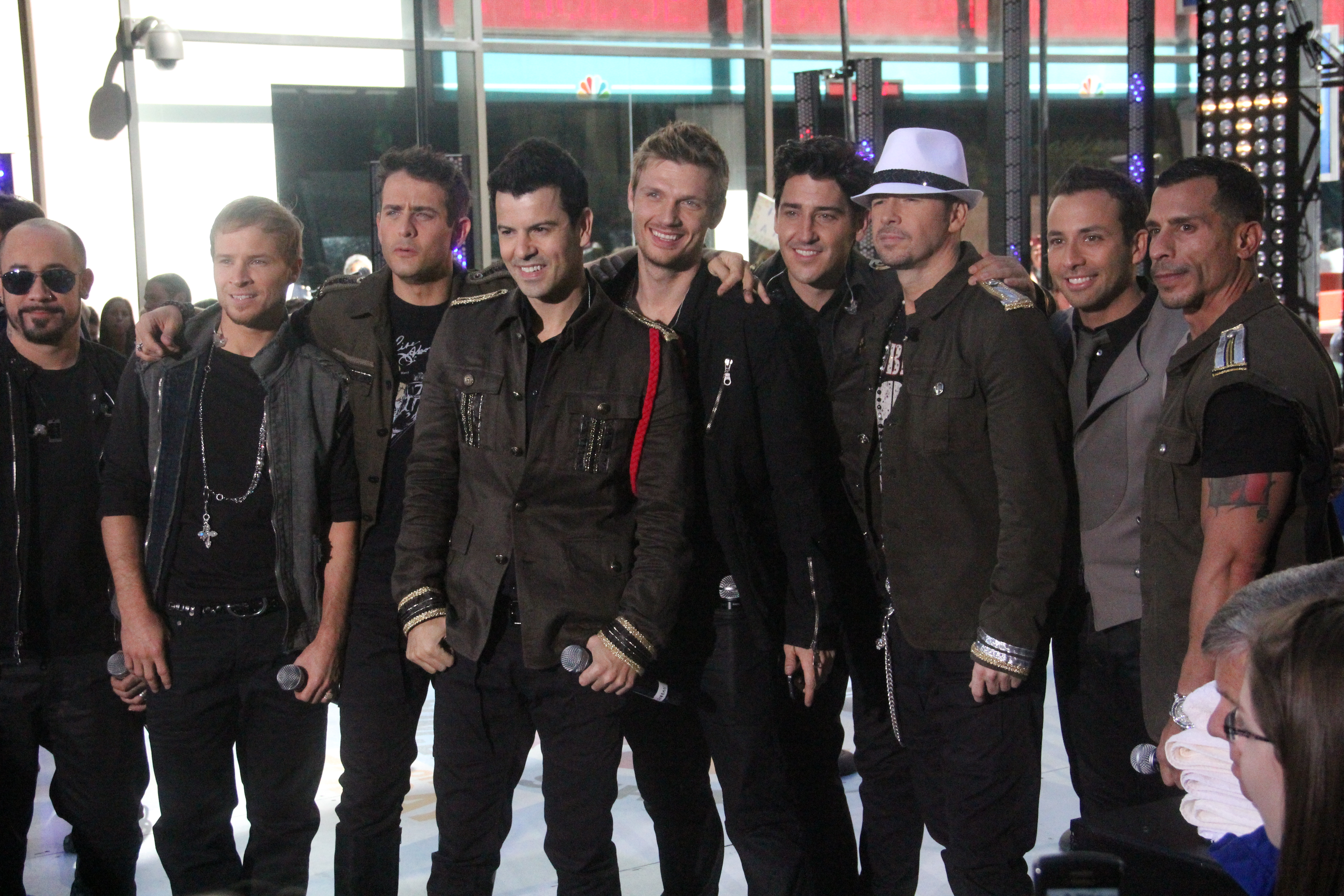 New Kids On The Block and Backstreet Boys 2011