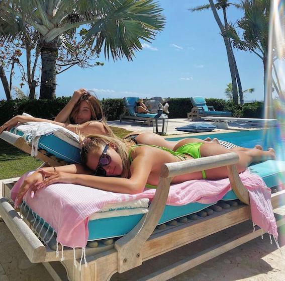 Kylie Jenner and Stassie Karanikolaou