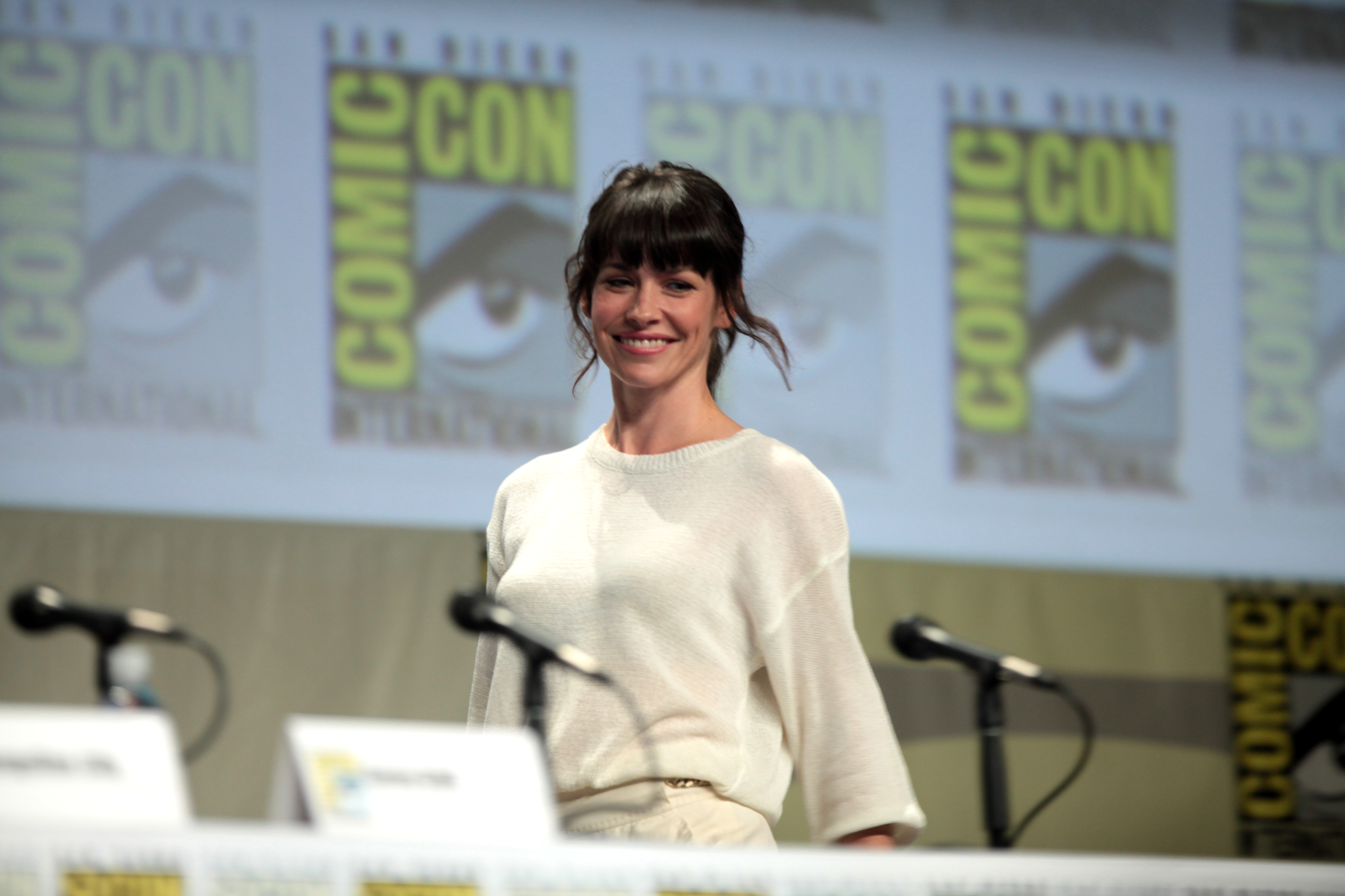 Evangeline Lilly 2014 Comic Con