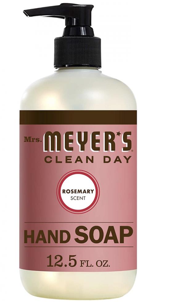 Mrs. Meyer's Liquid Hand Soap, Rosemary, 12.5 Fl Oz (Pack of 1)
