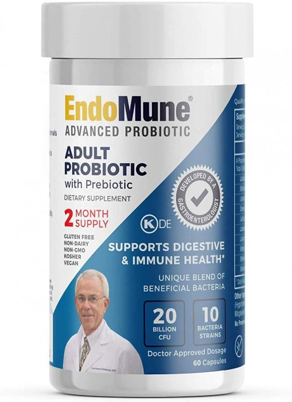 EndoMune Advanced Adult Multi-Strain Probiotic