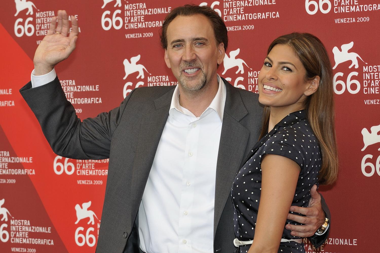 :Nicolas Cage and Eva Mendes at the 66ème Festival de Venise