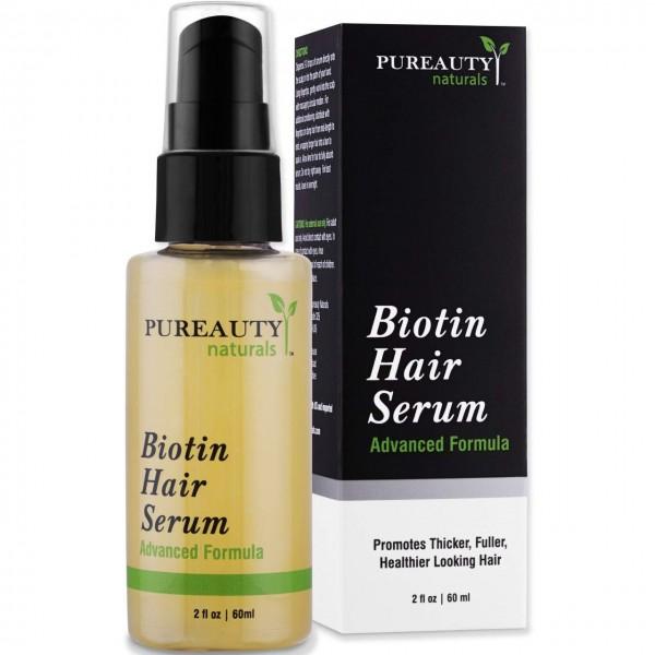 Pureauty Naturals' Biotin Hair Growth Serum