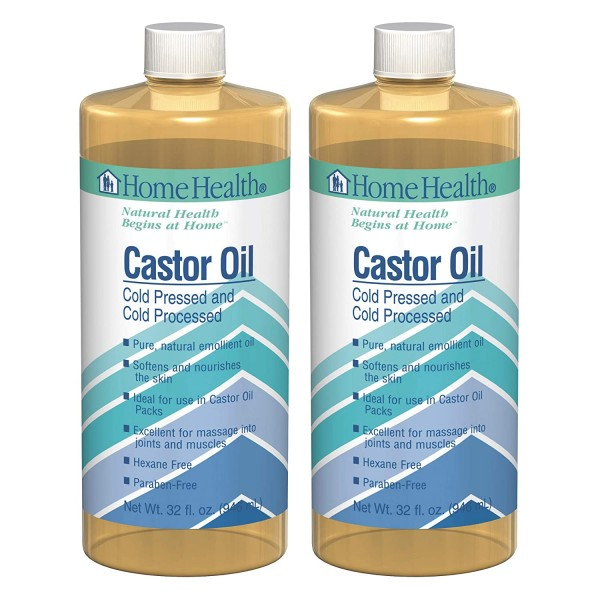 Home Health Original Castor Oil (2 Pack) - 32 fl oz