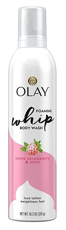 Olay Body Wash Whip White Strawberry + Mint
