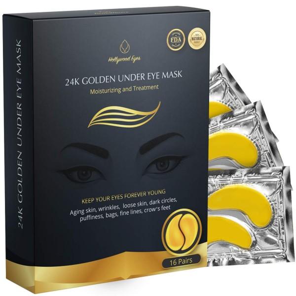BrightJungle 24k Golden Under Eye Mask