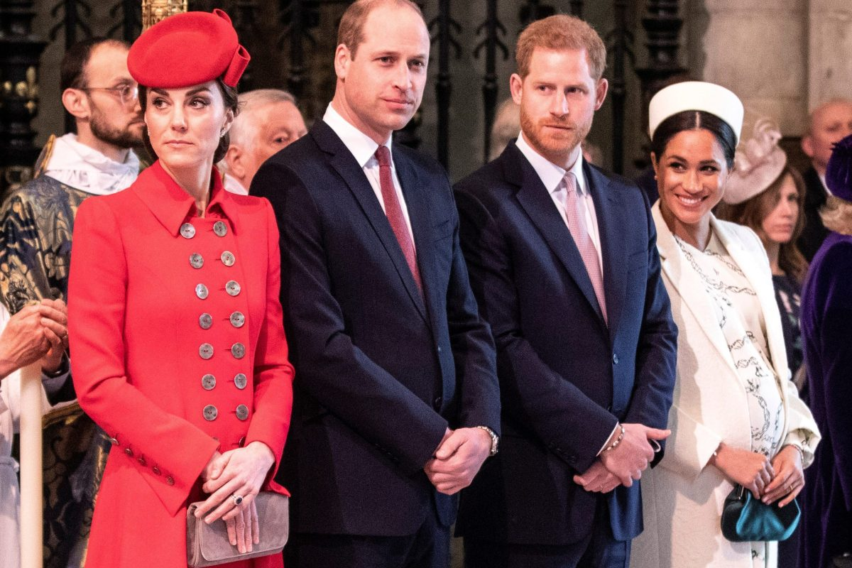 Kate Middleton, Catherine, Duchess of Cambridge, Prince William, Prince Harry, Meghan Duchess of Sussex