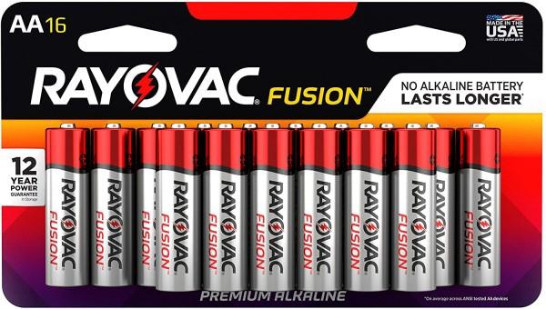 aa fusion alkaline battery