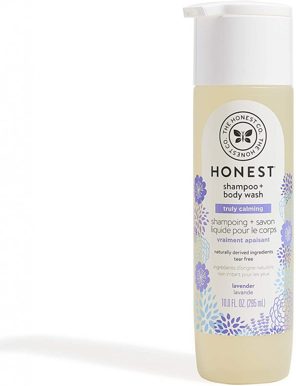 The Honest Company Truly Calming Lavender Shampoo + Body Wash Tear Free Baby Shampoo + Body Wash