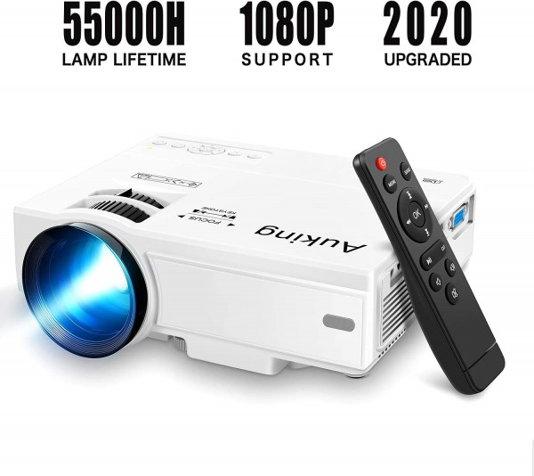 Mini Projector 2020 Upgraded Portable Video-Projector