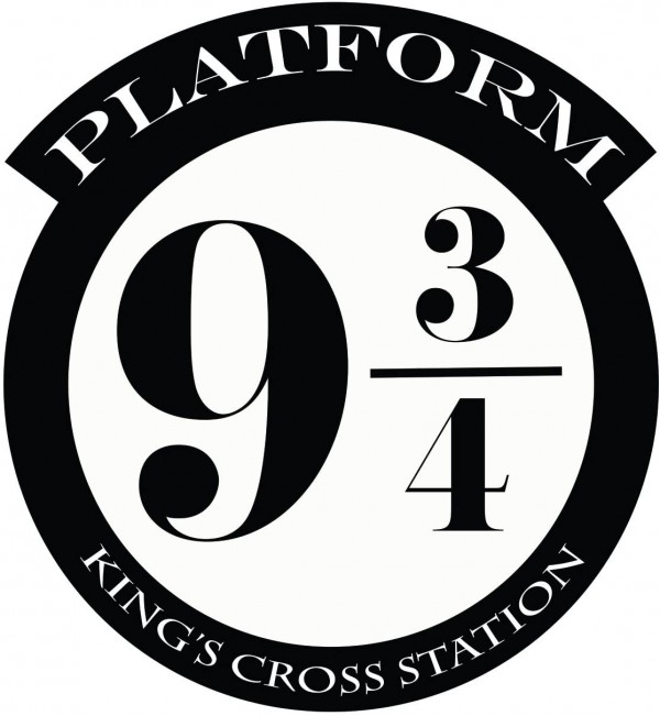 Platform 9 3/4 Version 1 Harry Potter Wall Decal