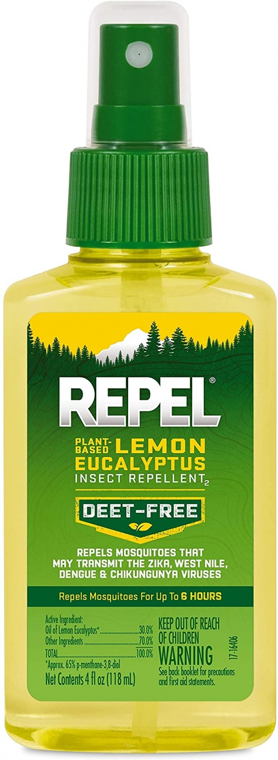 REPEL Plant-Based Lemon Eucalyptus Insect Repellent