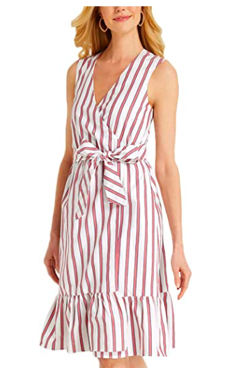 Draper James Faux Wrap Dress