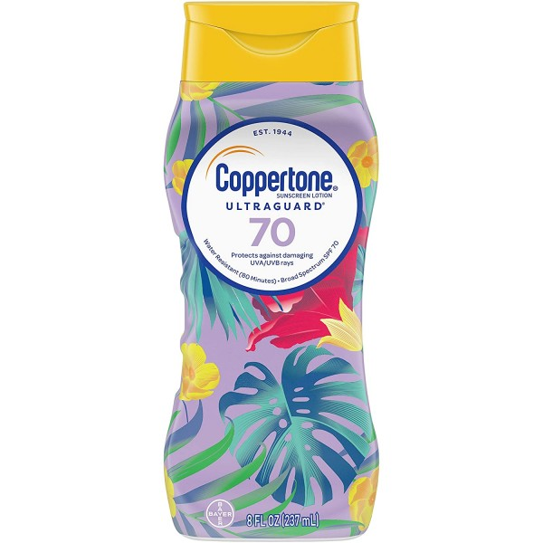 Coppertone Limited Edition ULTRA GUARD SPF 70 Sunscreen Lotion