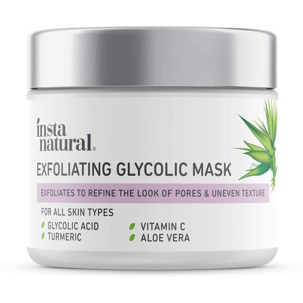 Exfoliating Glycolic Face Mask & Scrub
