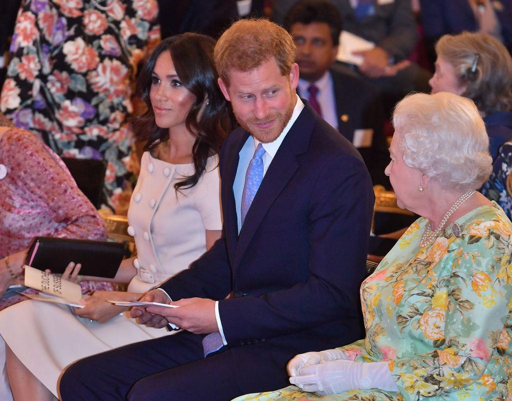 Meghan Markle, Prince Harry, Duke and Duchess of Sussex, Queen Elizabeth II